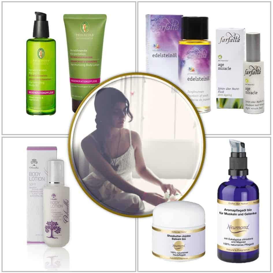 Aromapflege - natürliches Aromakosmetik