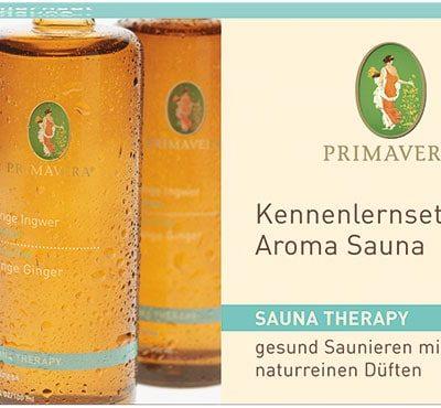Kennenlernset Aroma Sauna von Primavera