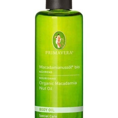 Makadamianussöl bio Basisöl von Primavera
