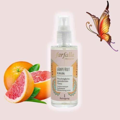 Grapefruit_Reinigung_Feuchtigkeitsspendendes Tonic farfalla