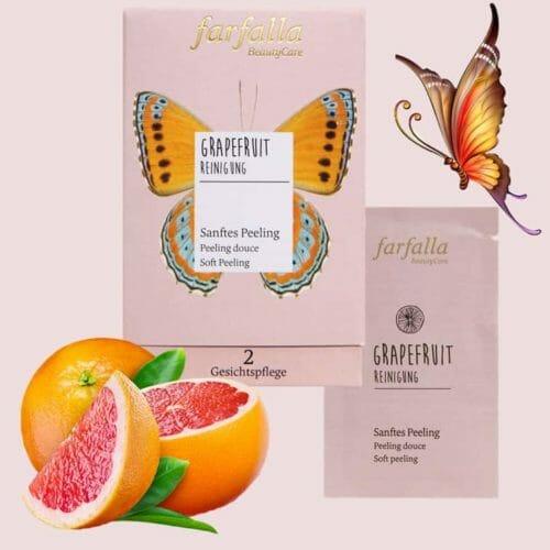 Grapefruit Reinigung Sanftes Peeling farfalla