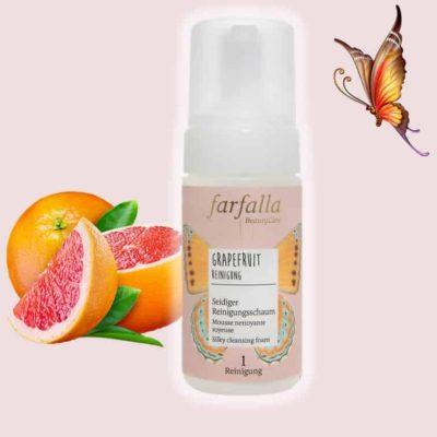 Grapefruit Reinigung Seidiger Reinigungsschaum farfalla