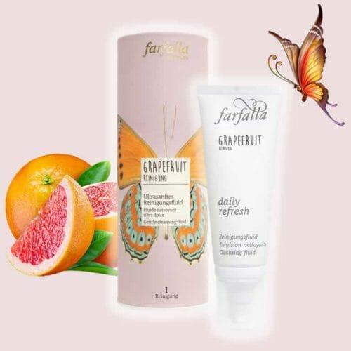 Grapefruit Reinigung Ultrasanftes Reinigungsfluid farfalla