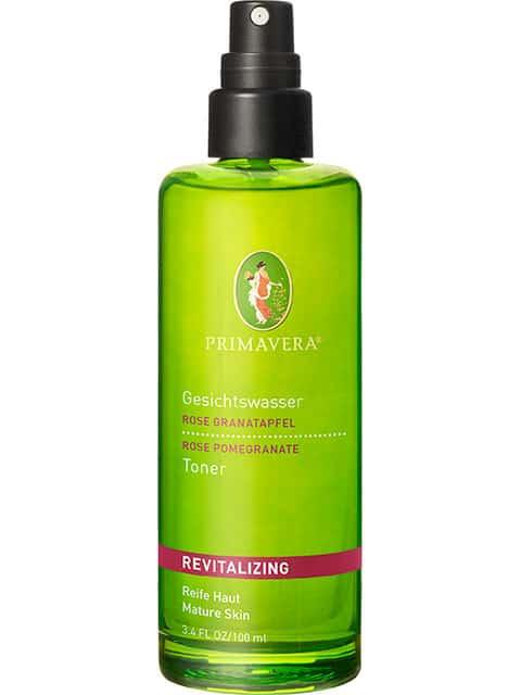 Revitalpflege Wohltuendes Gesichtswasser Rose Granatapfel - 100ml - Durch Sprühfunktion gut dosierbar! Erfrischt die Gesichtshaut auf sanfte Weise.