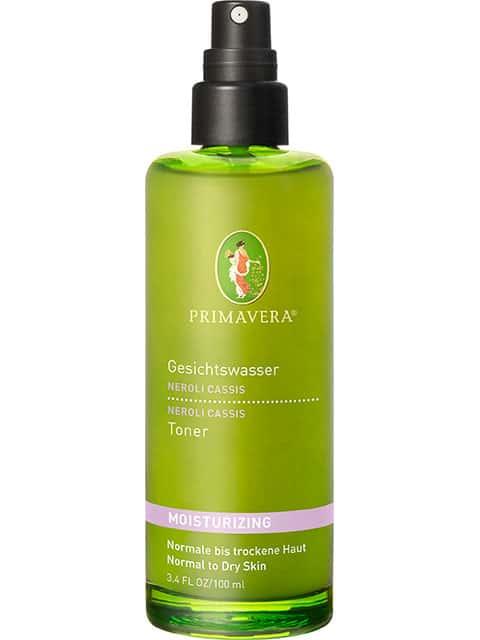 Gesichtswasser Neroli Cassis - 100ml - Angenehmer Geruch, sehr erfrischend und wiederbelebend bei Müdigkeit tagsüber. Die Haut fühlt sich danach super an