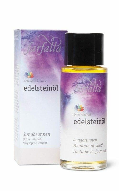 Edelsteinöl Jungbrunnen - 80ml - Ein Körper- Massage- und Gesichtsöl der Extraklasse. Auch als Badeöl eine wunderbare Entspannung.
