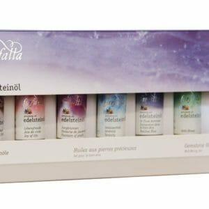 Edelsteinöle, Das Wohlfühl-Set 7 x 10ml - Farfalla