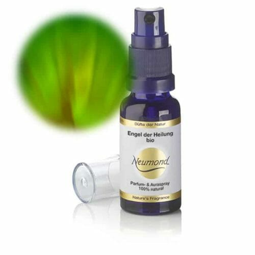 Engelslicht für Heilung Naturparfum bio von Neumond. Dieses unverwechselbare Parfum enthält reinigende und stärkende Öle, wie Niaouli und Fichtennadel. 20ml