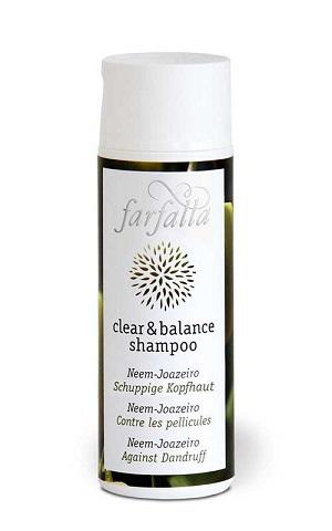 clear und balance shampoo Neem-Joazeiro - Farfalla