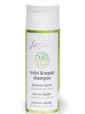 nutri und repair shampoo Kastanie-Jojoba - Farfalla
