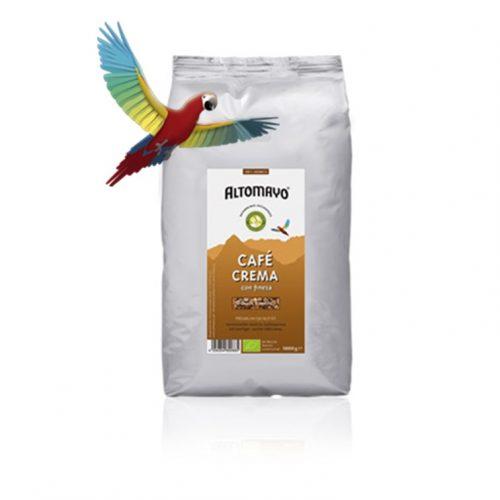 Kaffee Crema aus Peru.100% HOCHLAND ARABICA,-100% SAMTIG-SANFTE EDELCREMA,Von Altomayo.250Gramm, gemahlen.Starker,edler,sanfter Geschmack.