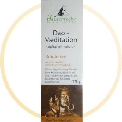 Dao-Meditation-Tee - Heuschrecke
