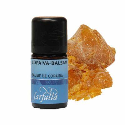 Copaiva Balsam Wildsammlung Ätherisches Öl von Farfalla