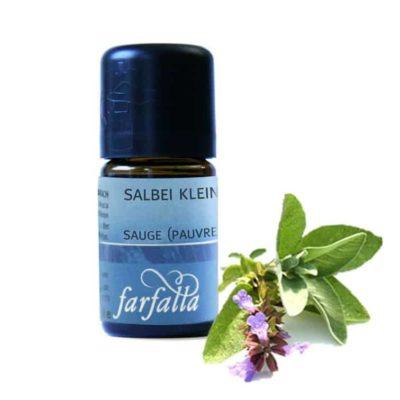 Salbei kleinblättrig (ketonarm) bio Ätherisches Öl  Farfalla