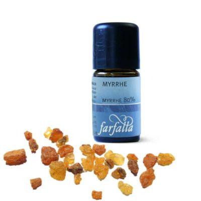 Myrrhe 80% Wildsammlung Ätherisches Öl von Farfalla