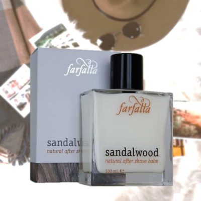 men Sandalwood Natural After Shave Balm - Farfalla