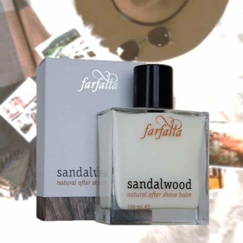 Sandalwood Natural after shave balm von Farfalla