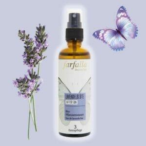 Lavendelblütenwasser bio Alkoholfrei Farfalla