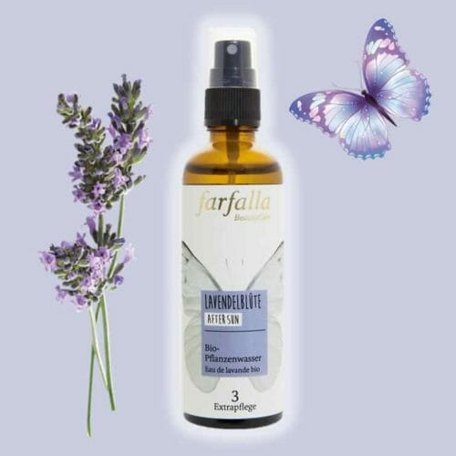 Lavendelblütenwasser bio Alkoholfrei von Farfalla | Angeldar