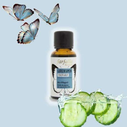Gurkensamenöl bio Basisöl von Farfalla | Angeldar