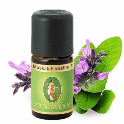 Muskatellersalbei bio Ätherisches Öl von Primavera,