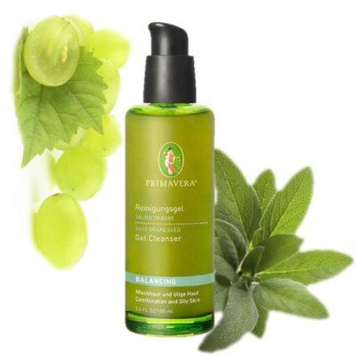 Balancepflege Hautklärendes Reinigungsgel Salbei Traube Primavera