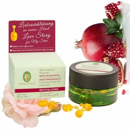 Olio Intensiv Kapseln Rose Granatapfel Primavera life