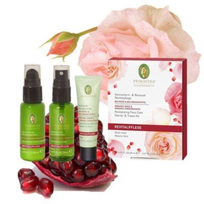 Kennenlern und Reiseset Rose Granatapfel Primavera