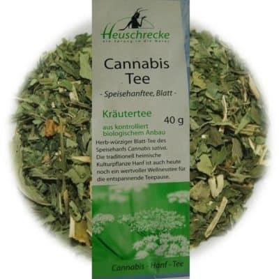 Cannabis Tee-Hanf Tee bio - Heuschrecke