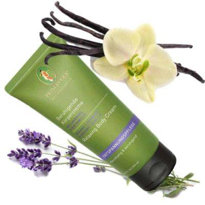 Körpercreme Bio Lavendel & Bio Vanille - Primavera