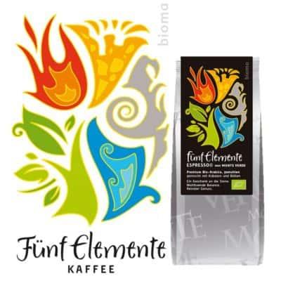 Fünf Elemente Espresso gemahlen - Bioma