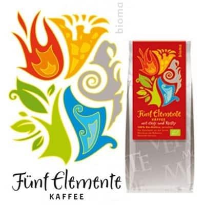 Fünf Elemente Kaffee mit Goji und Reishi - Bioma