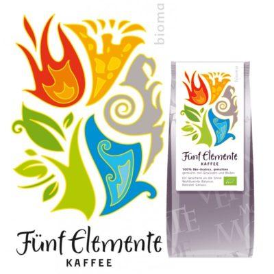 Fünf Elemente Kaffee mit Kräutern und Blüten - Bioma