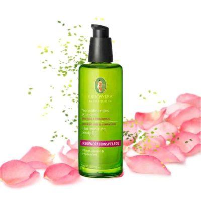 Körperöl Bio Rose & Osmanthus - Primavera
