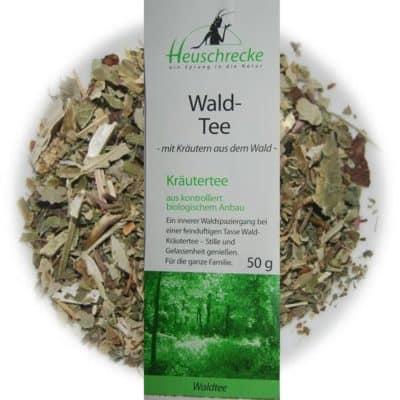 Waldtee / Waldkräutertee - Heuschrecke