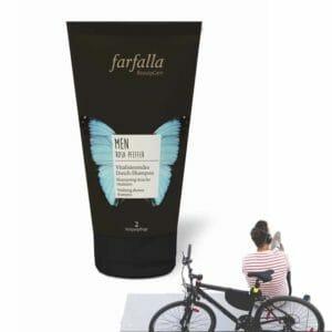 Vitalisierendes Dusch-Shampoo men, Rosa Pfeffer Farfalla