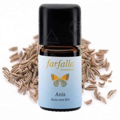 Anis bio Ätherisches Öl gesund von Farfalla