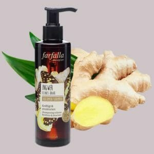Ingwer volumen shampoo Farfalla