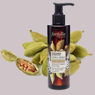 Kardamom Antischuppen Shampoo Farfalla