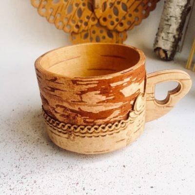 Tee Tassen Handarbeit aus Sibirien
