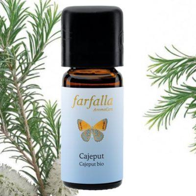 Cajeput bio Ätherisches Öl von Farfalla